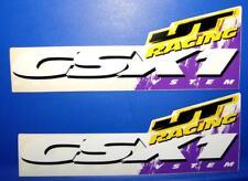 Vintage 1980's Genuine JT Racing Pair Of GSX1 Decal Sticker JT USA MX SX Moto