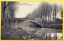 CPA 80 - DOULLENS (Somme) Le PONT de BRIQUE sur l' AUTHIE Animés Jeune Filles