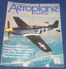 AEROPLANE MONTHLY MARCH 1981 - HANDLEY PAGE VICTOR V-BOMBER