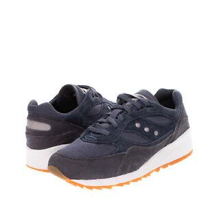 RRP€130 SAUCONY SHADOW Sneakers EU43 UK8.5 US9.5 Contrast Leather Mesh Trim Logo