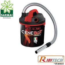 CeneBat Bidone aspira cenere calda a batteria per camino stufa con soffiatore