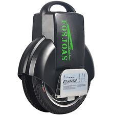 New FOSJOAS V3 Electric 2 Wheel Self Balancing Unicycle Scooter Black