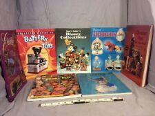 LOT OF 7 A LIBRARY OF TOY COLLECTIBLE AND REFERENCE BOOKS
