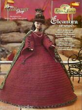 Eleanora of Spain Ladies of Fashion Crochet Gown Pattern for Barbie Dolls NEW