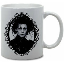 EDWARD SCISSORHANDS COFFEE MUG! tim burton horror beetlejuice movie monsters vtg