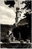 Gutach Schwarzwald  Ansichtskarte ~1950/60 Krieger Denkmal Kirchturm ungelaufen