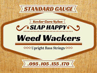 Slap Happy Weedwackers SYNTHETIC GUT Upright Double Bass WEED WACKER STRINGS