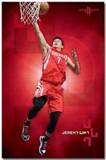 BASKETBALL POSTER Jeremy Lin Houston Rockets NBA