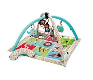 Skip Hop Alphabet Zoo Activity Gym | Baby Play Gym and Play Mats