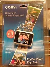 """Coby DP-151 1.5"""" Digital Picture Keychain Gold's Up To 60 Photos New & Sealed"""