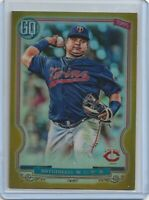 2020 Topps Gypsy Queen WILLIANS ASTUDILLO Gold Chrome Refractor 33/50 TWINS #46