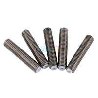5PC M6x30mm Stainless Steel Nozzle Throat For 3D Printer Extruder MK8 Hot End LJ