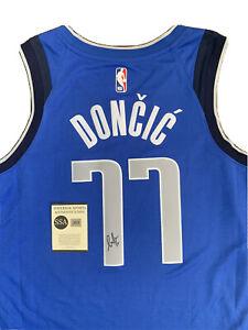 Luka Doncic Autographed Dallas Mavericks Jersey COA