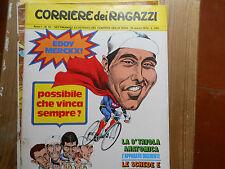 corriere dei piccoli 1972 Eddie Merckx in copertina