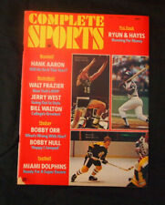 Complete Sports Spring 1973 Hank Aaron Bobby Orr Cover No Label Vintage MINT