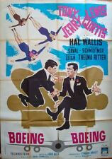 BOEING BOEING Italian 4F movie poster 39x55 TONY CURTIS JERRY LEWIS DANY SAVAL