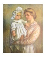 Auguste Renoir Claude and Renee Poster Kunstdruck Bild 71x56cm - Germanposters