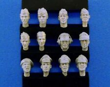 1/35 WW2 German Soldier Heads Avatar x12 resin models
