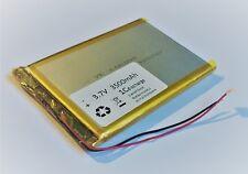 Lithium Polymer LiPo Batterie Akku 3500mAh 3.7 V USV 1S Powerbank PCB Tablet N13