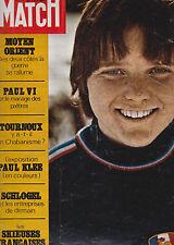 PARIS MATCH . FEVRIER 1970 . MENETREY . SCHLOGEL . DUBCEK . MIR . ANNIE FAMOSE