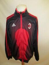 * Veste de football vintage AC Milan Adidas Rouge Taille 12 ans