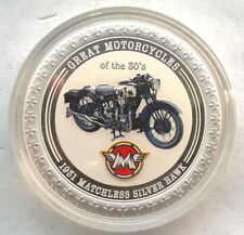 Cook 2007 Matchless Silver Hawk 2 Dollars 1oz Silver Coin,Proof