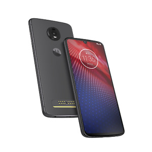 (Refurbished) Motorola Moto Z4 128GB Android 4G Smartphone Mobile GSM Unlocked