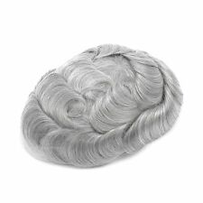 GEX Toupee Mens Hairpiece Bella Basement Wig Human Remy Hair Replacement Systems 580#