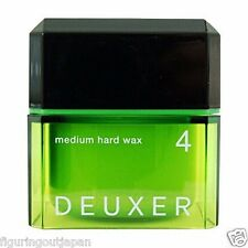 ☀ Number Three DEUXER Medium Hard Wax 4 Hair Styling Wax 80g Japan ☀
