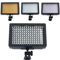 160 LED Studio Video Light Lamp Panel for Canon Nikon DSLR Camera DV Camcorder