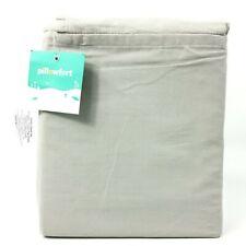 Pillowfort Toddler Sheet Set Solid Gray 3 Piece Set