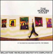 The Wonder Stuff Very Best Greatest Hits Collection 80's 90's Indie Brit Pop CD
