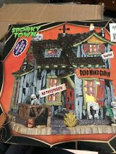 Lemax Spooky Town Dead Mans Cabin 45676 Halloween Village Building New In Box