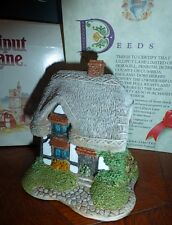 LILLIPUT LANE GRANNY SMITHS COTTAGE MIDLANDS FIGURINE, Box, Booklet & Deed, NIB