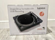 Cheap Turntable Vinyl Player - Lenco L-400 - Direct Drive - USB Recording - BNIB