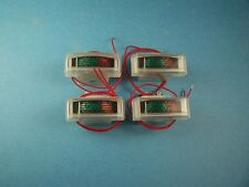 4 pcs COBRA 29 148 UNIDEN 76 78 REPLACEMENT METER CB RADIO NEW