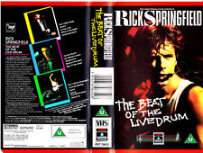 "VHS - ""Rick Springfield-the beat of the live Drum"" (1985)"