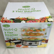 SCHALLEN 12l Stainless Steel 3 Tier Healthy Eating Food Steamer 1l Rice Bowl