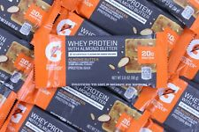52 Gatorade Protein Bars Almond Butter 20g Whey Protein Muscle Recovery