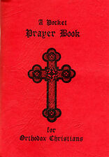 Pocket Prayer Book for Orthodox Christians -Red Paper Cover (3.5 x 5 inches)-NEW