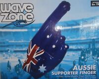 AUSTRALIA DAY AUSSIE SUPPORTER INFLATABLE FINGER HAND WAVE ZONE SPORTS POOL
