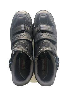 Shimano Pedaling Dynamics Mountain Bike Shoes - Black Wide EU 44