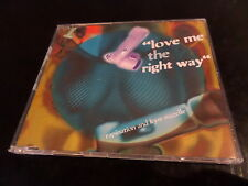 CD SINGLE - RAPINATION FEAT KYM MAZELLE - LOVE ME THE RIGHT WAY