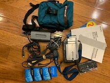 Sony Handycam Digital Video Camera Recorder DCR-TRV11 Bundle