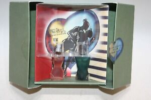 Jean Paul Gaultier 1998 Valentin Duo EDT 2x 3,5ml -Parfumminiaturen Sammlerstück