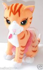 "11"" Mattel 2008 Barbie Ginger Tabby Talking Purring Cat Soft Toy - Not working"