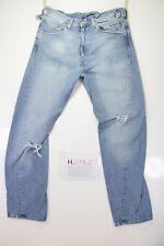 Levis Engineered Destroy 0007 (Cod. H2152) Tg48 W34 L30 jeans usato Vita Alta