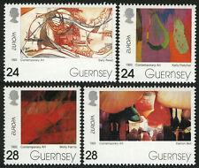 Guernsey 511-514, MI 608-611, MNH. EUROPA CEPT. Contemporary Art, 1993
