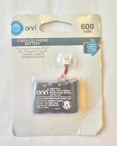 Onn Cordless Phone Battery, 3.6V, 600mAh, ONB16TE004