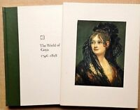 Book THE WORLD OF GOYA Time-Life Library of Art Hardcover Collectible 1968